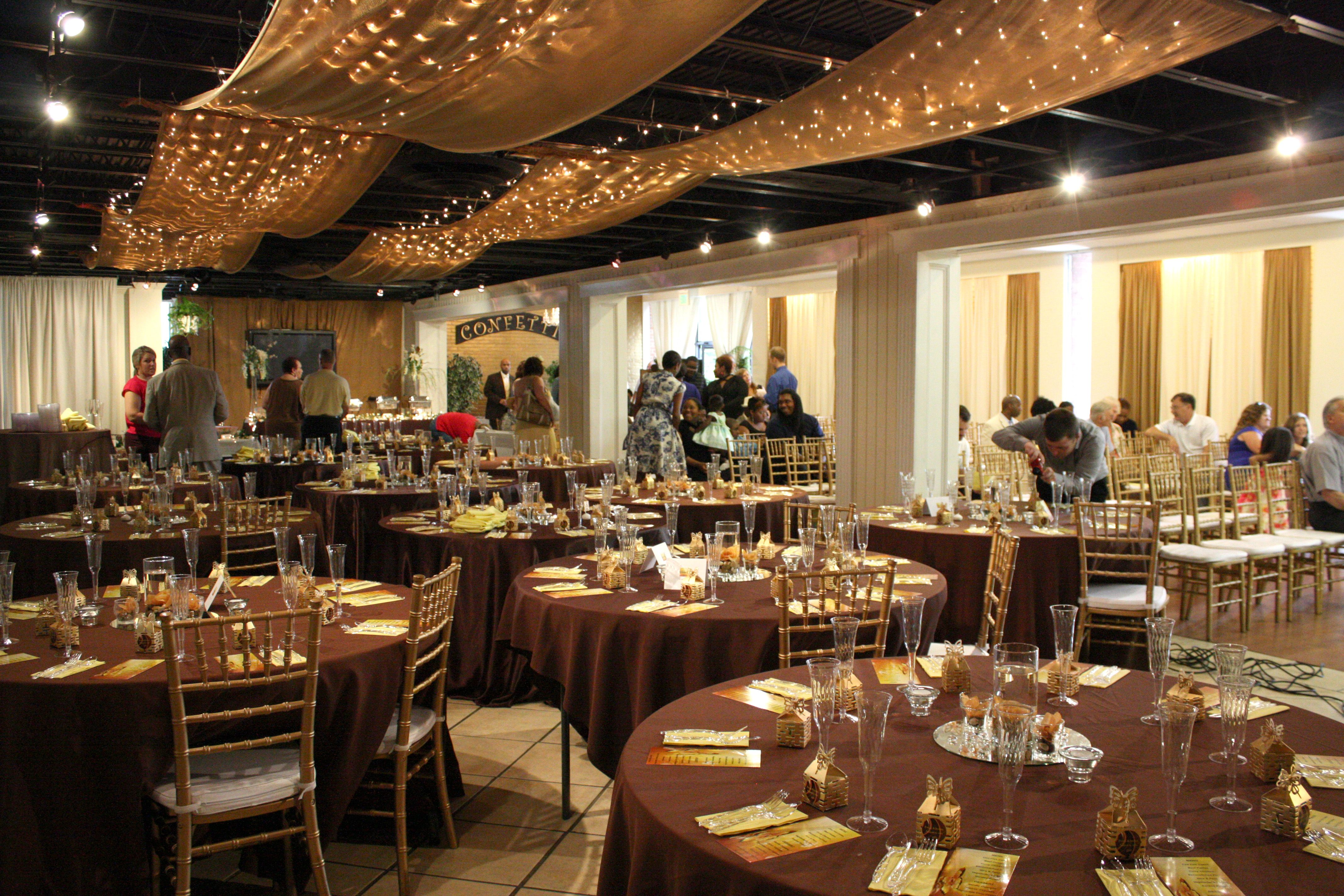 Brown And Gold Wedding Ideas: Brown/Gold/Yellow Wedding Decor