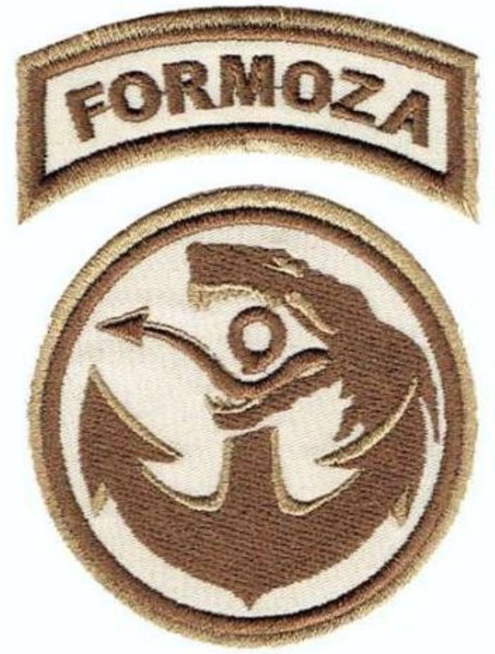 Isaf Polish Patch Fob Ghazni Aghanistan Navy Seals Formoza