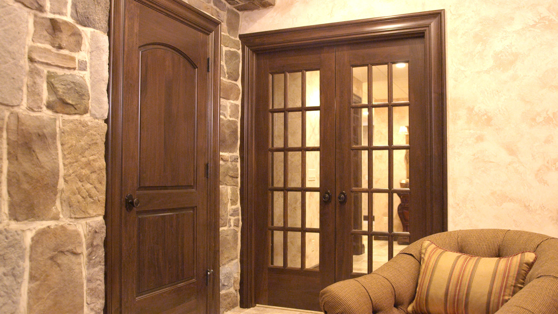 Custom poplar interior two panel continental and 15 lite for 15 panel interior door