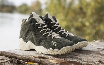 40be29f573fab2 SNEAKERSNSTUFF × REEBOK KAMIKAZE II MID TXT HERRINGBONE  sneaker