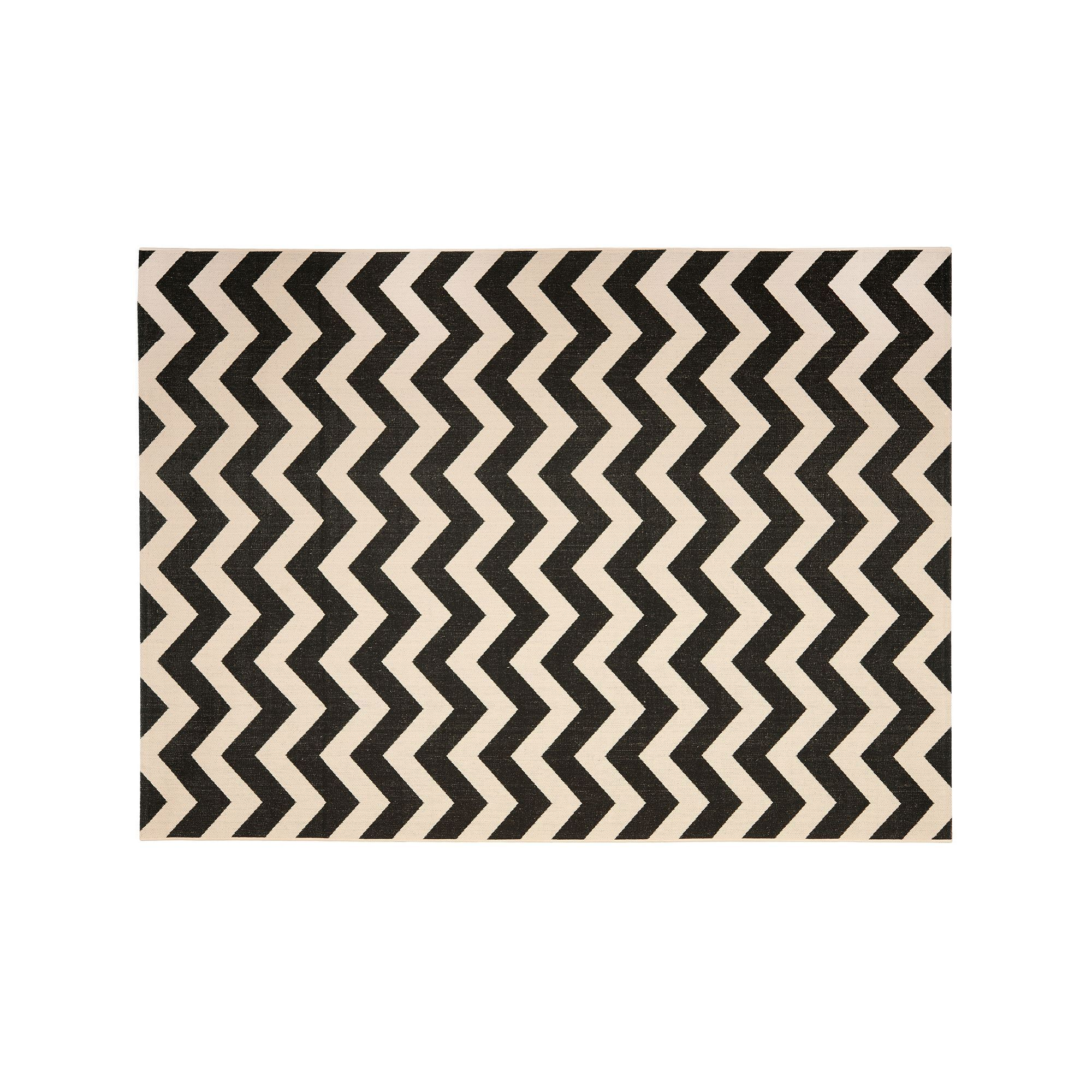 safavieh courtyard zigzag chevron indoor outdoor rug brown  - safavieh courtyard zigzag chevron indoor outdoor rug black durable