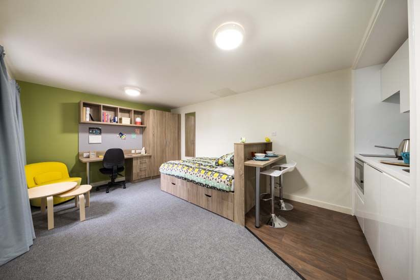 Modern Student Accommodation Near Birmingham University Selly Oak Court Student Accommodation Birmingham University Accommodations