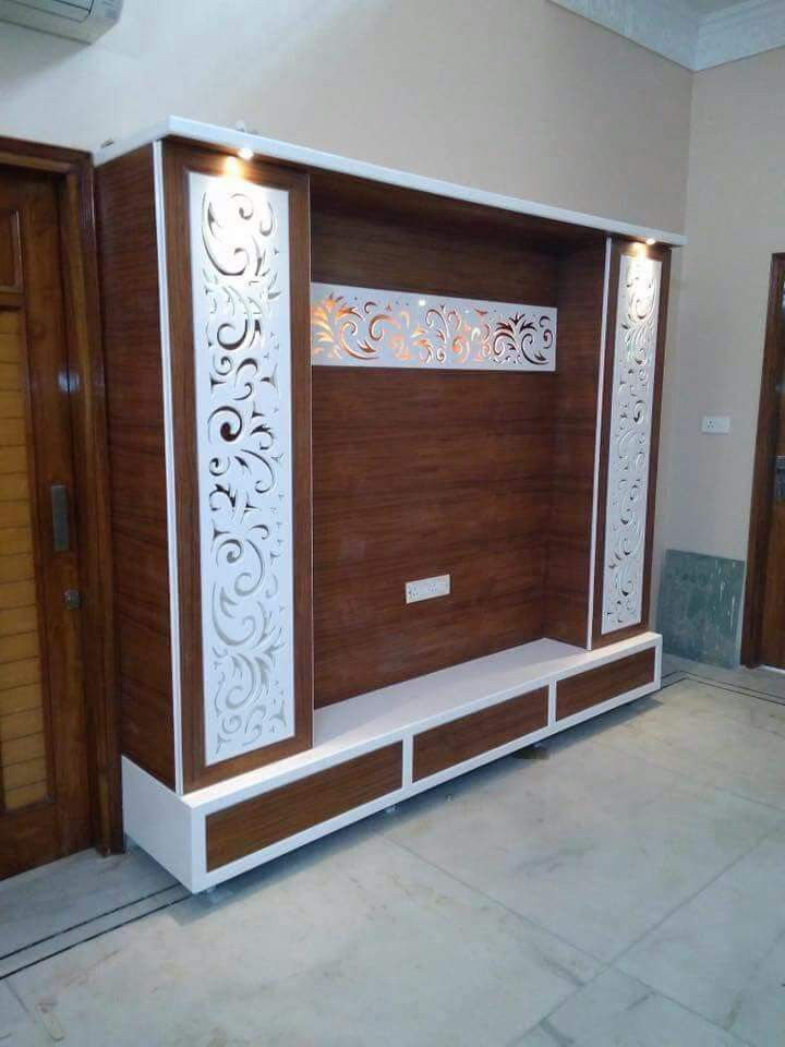 Room Showcase Designs Recommended Mdf Living: Lcd Wall Design, Wall Tv Unit Design