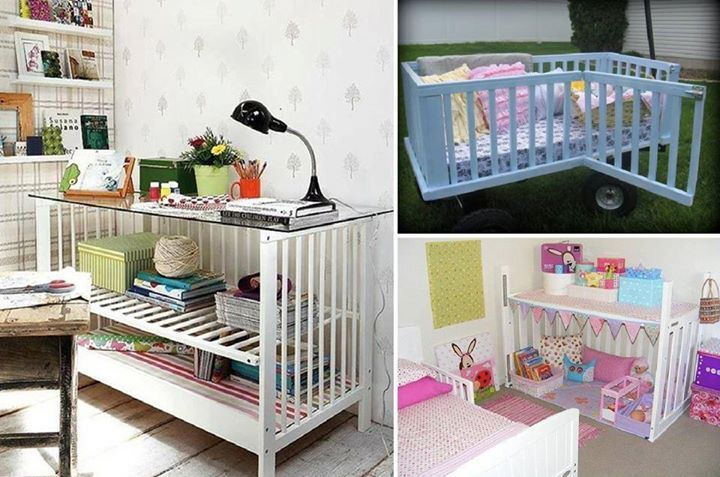 Ideas for that babycot currently in the shed...