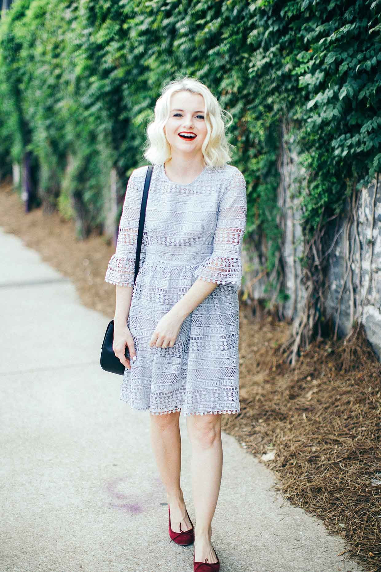7f35550e7f01 Poor Little It Girl - Lace Dress With Bell Sleeves -  poorlilitgirl ...