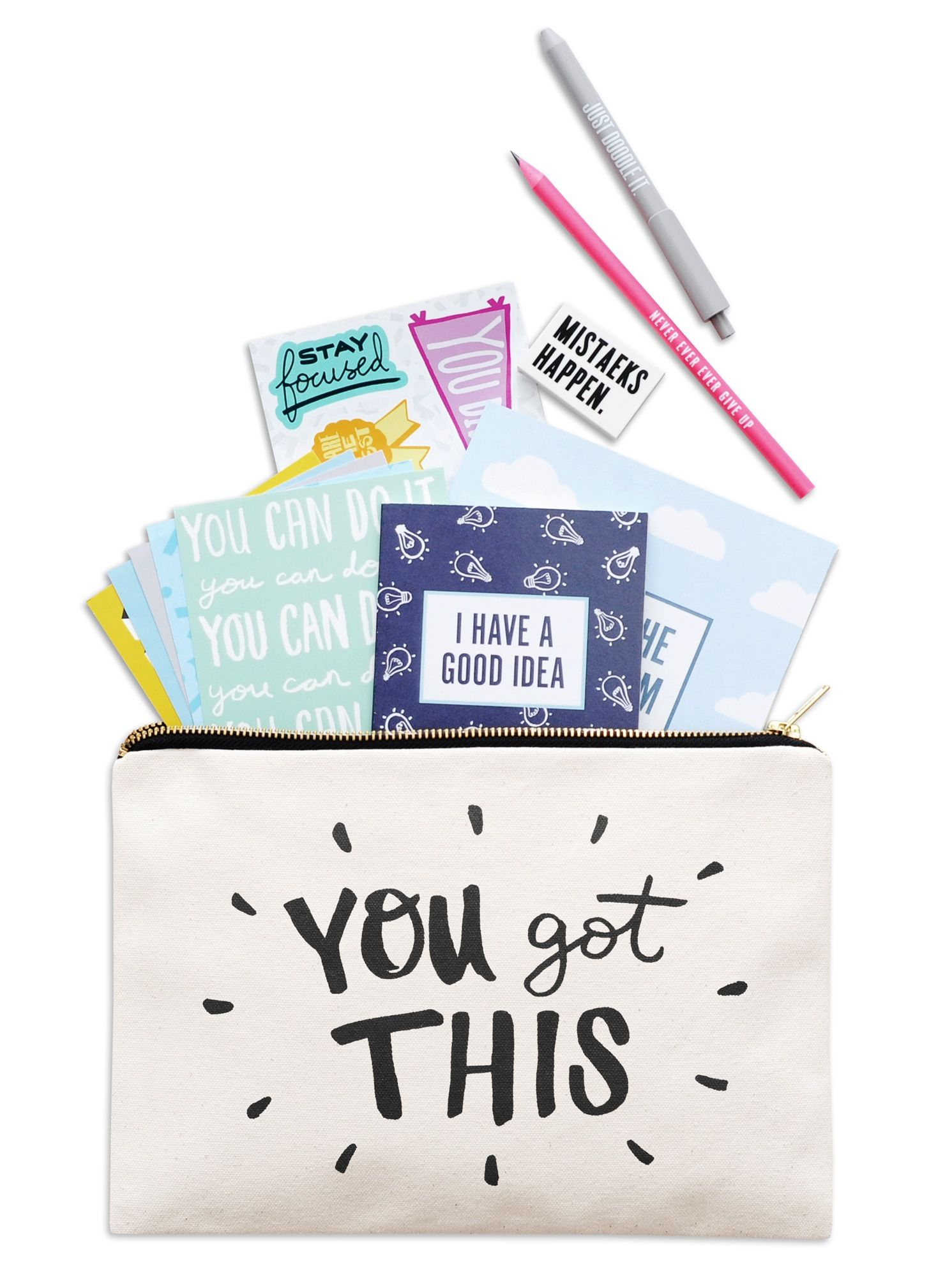 Oh Goody! This goody pouch gift set includes the following