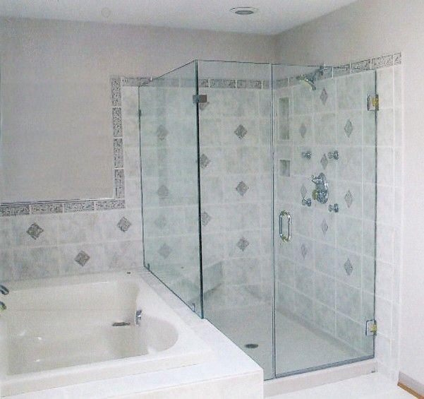 Sterling Glass Showers Frameless Doors Glass Shower Bathrooms
