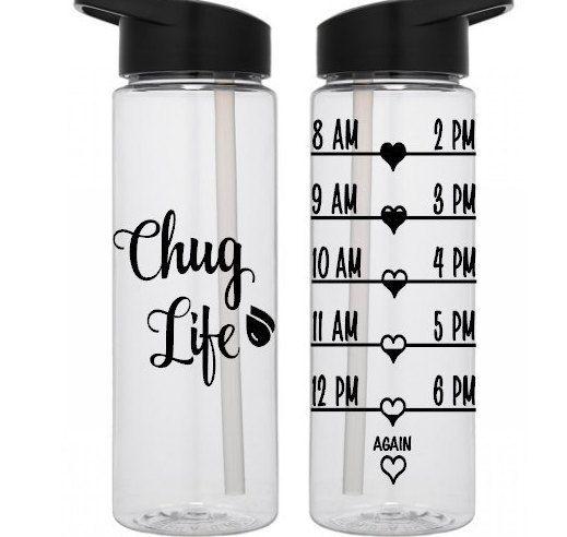 Chug Life Sports Water Bottle
