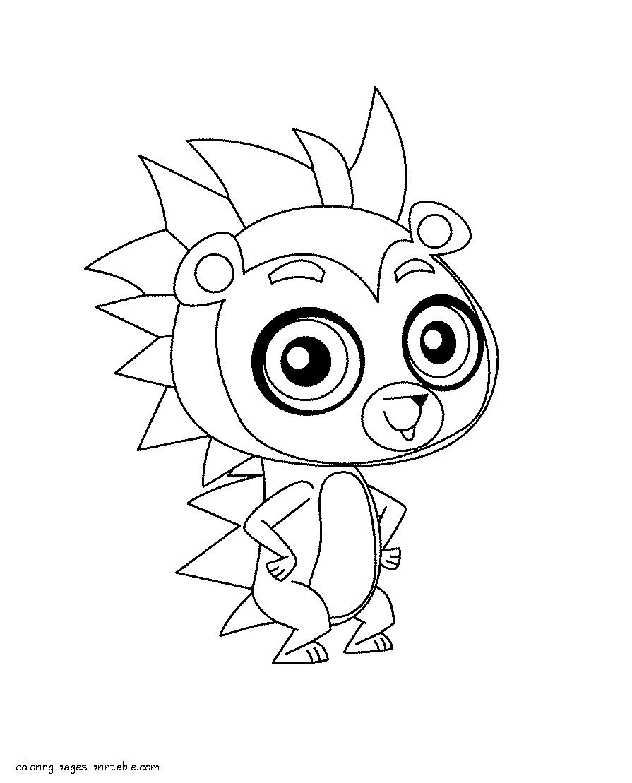 Littlest Pet Shop Coloring Pages Best Of Pet Shop Coloring