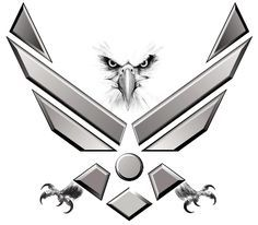 air force symbol tattoo thread help with patriotic tattoo rh pinterest nz air force symbol tattoo designs Traditional Air Force Tattoos