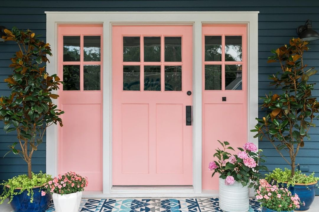 Hgtv On Instagram A Door Able Painting Your Front Door Changes The Entire Exterior Look Of Your H Painted Front Doors Front Door Paint Colors Shutter Colors