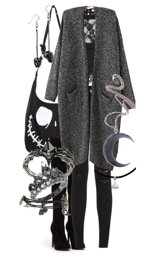 """Untitled #210"" by myfandomheart on Polyvore featuring Nly Shoes, Parisian, Glamorous, KD2024 and Kill Star"