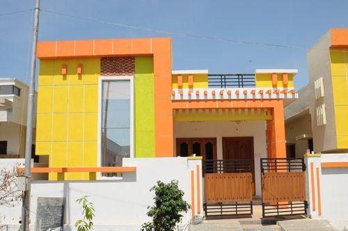 Vijayawada Village House Design Independent House West Facing House