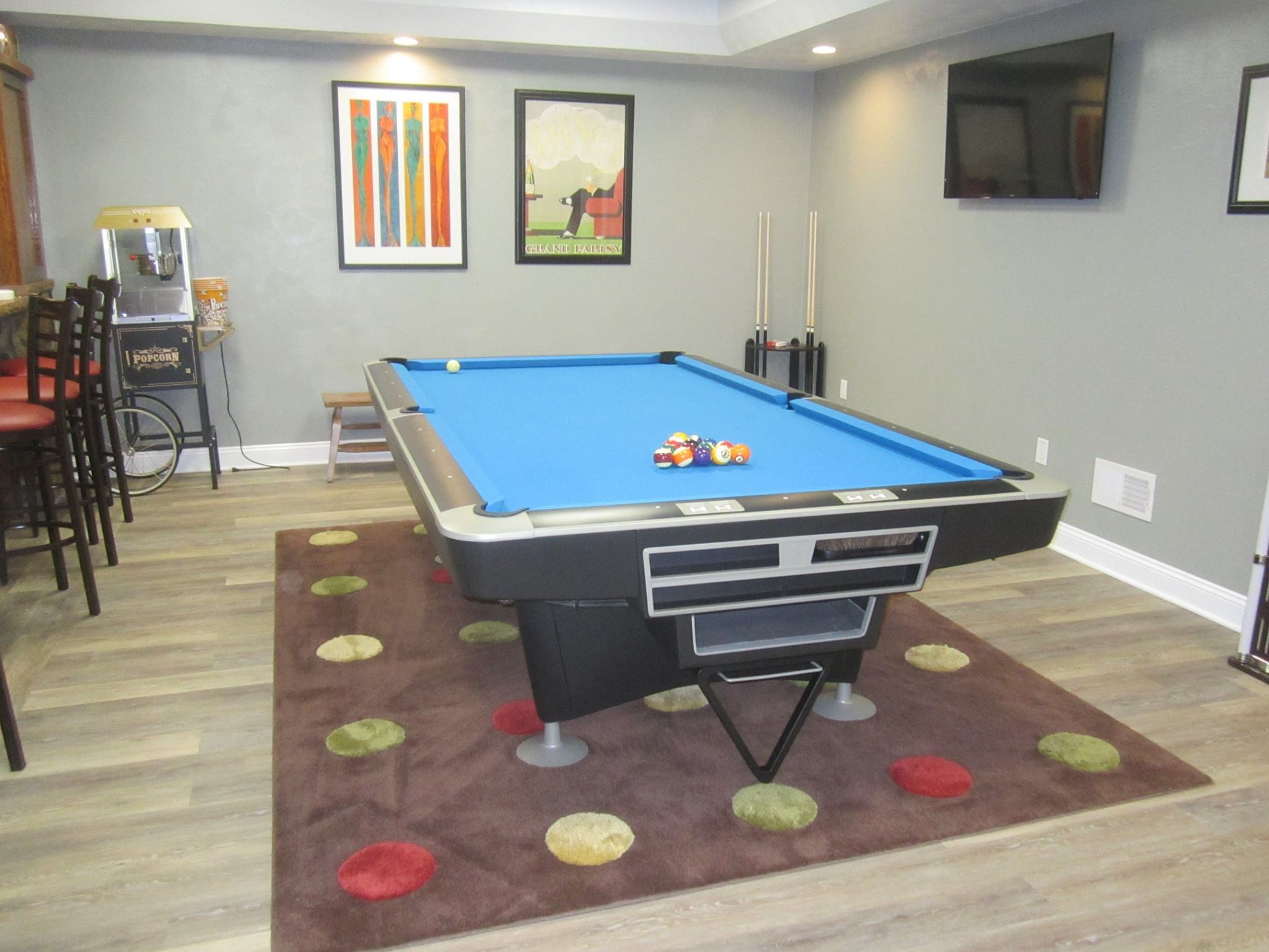 This Restoration Was Completed By On The Break In Toledo Ohio For - Pool table movers toledo ohio