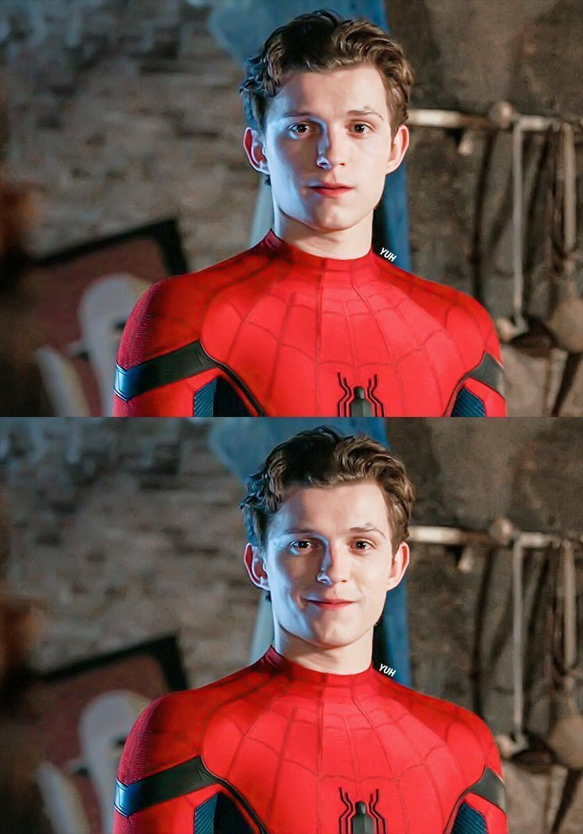 Gonna Cry Spiderman : gonna, spiderman, Peterparker, #peterparker, Holland, Spiderman,, Peter, Parker,, Imagines