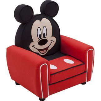 U003cstrongu003eDelta Childrenu003c/strongu003e Mickey Mouse Figural Kids Chair