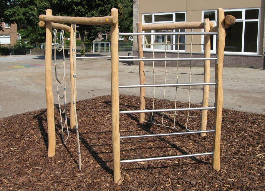 Klettergerüst Rund : Klettergerüst geeignet für den schulhof garten backyard