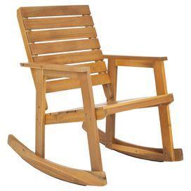 Statford Indoor Outdoor Rocking Chair Teak Rocking Chair