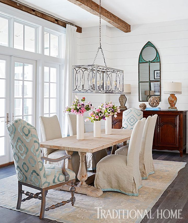 Love The Simplicity Of This Dining Room#lovethechaircovers Awesome Coastal Dining Room Sets Review