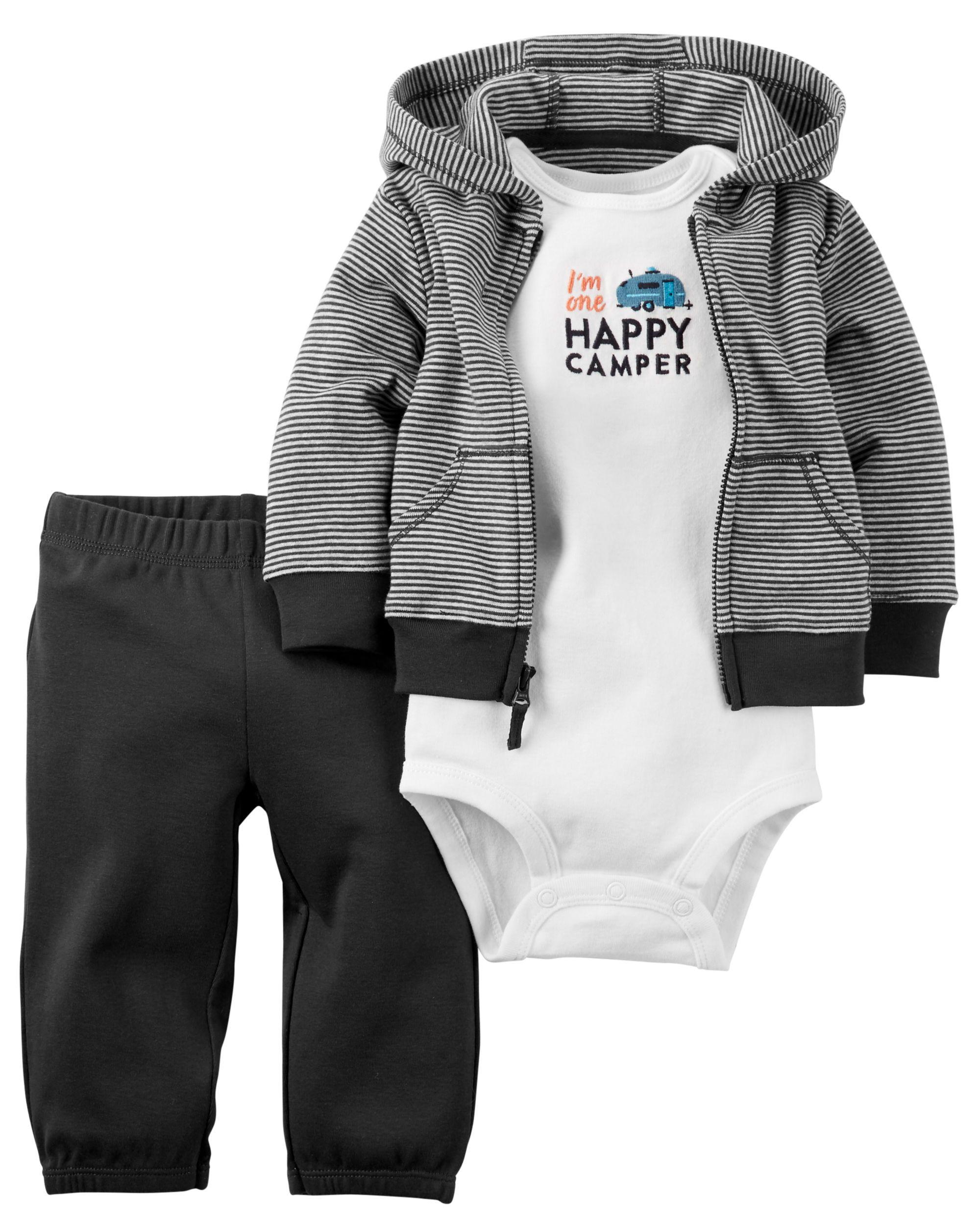 8675be81cd31 3-Piece Babysoft Little Jacket Set