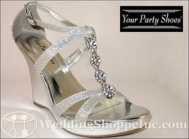9df6ced35a Your Party Shoes Wedding Shoes Zoey in 2019 | Wedding Shoes | Wedge ...