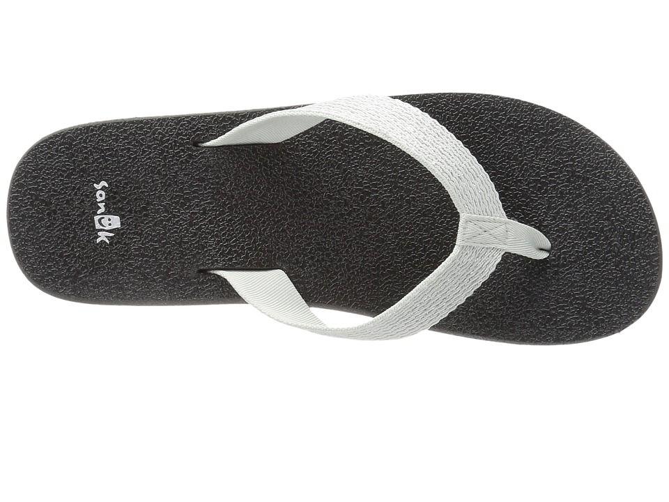 14414f24e5f9e1 Sanuk Yoga Mat Web-Bling Women s Sandals Glacier Silver