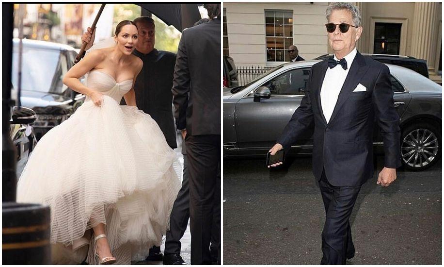 Katharine Mcphee And David Foster Celebrity Bride Celebrity Weddings London Bride