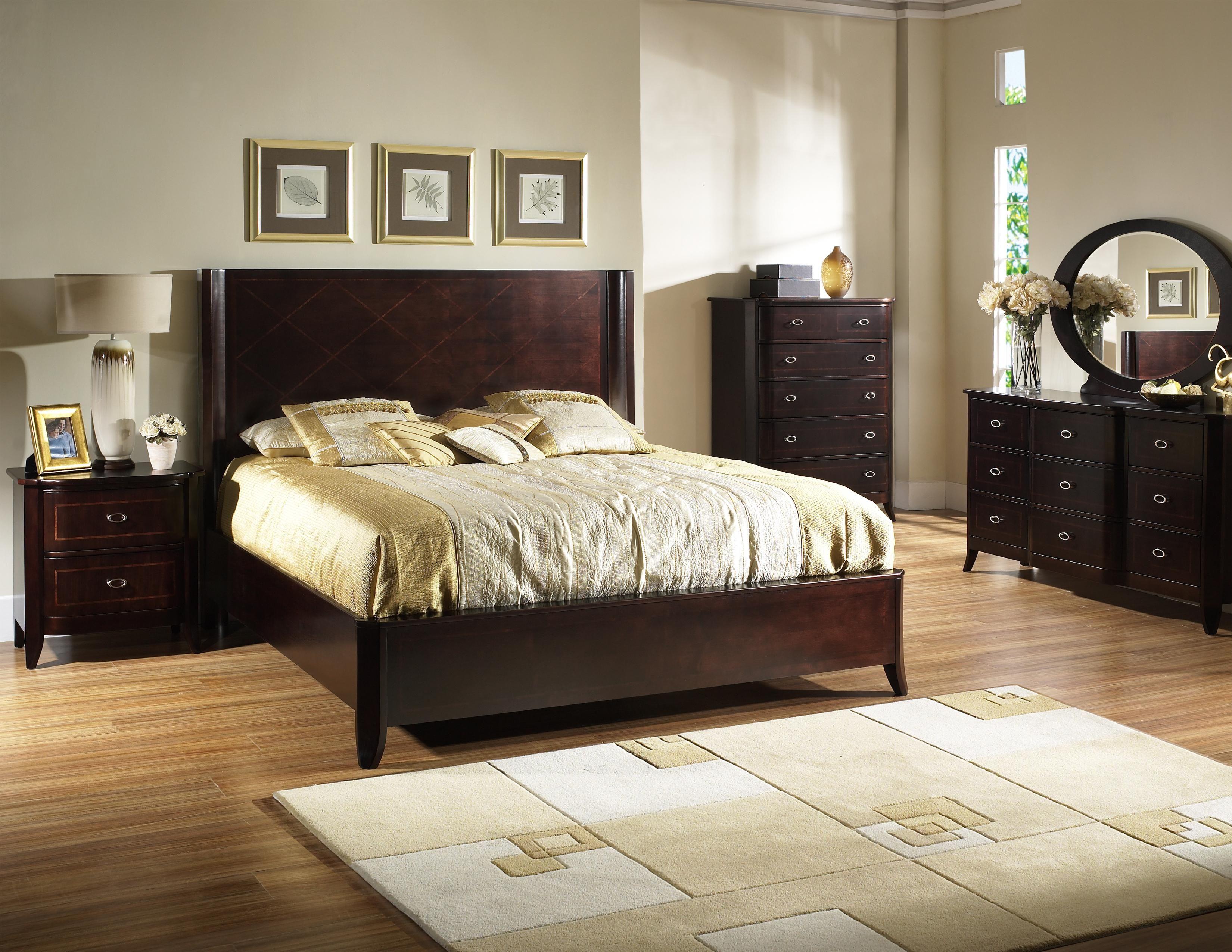 Somerton Crossroads California King Panel Bed P41152C