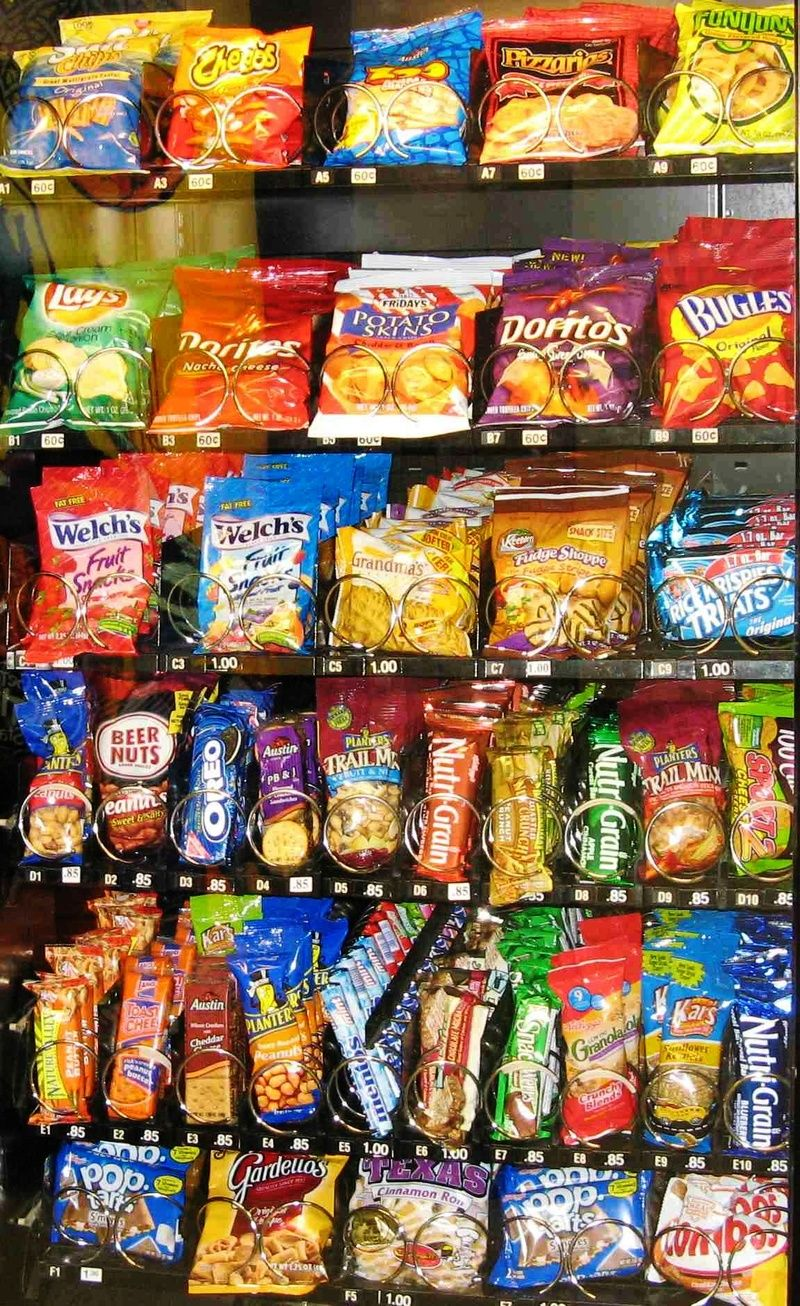 What is the Shelf Life of Vending Snacks and Drinks ...