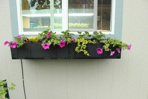 jardini re fen tre ou balcon et diy ou comment faire soi m me une telle jardini re deco. Black Bedroom Furniture Sets. Home Design Ideas