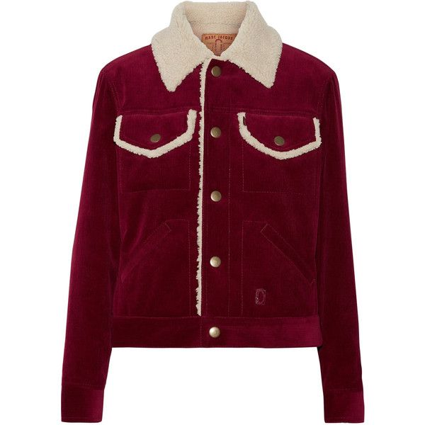 Marc Jacobs Faux shearling-lined corduroy jacket (10.285 ...