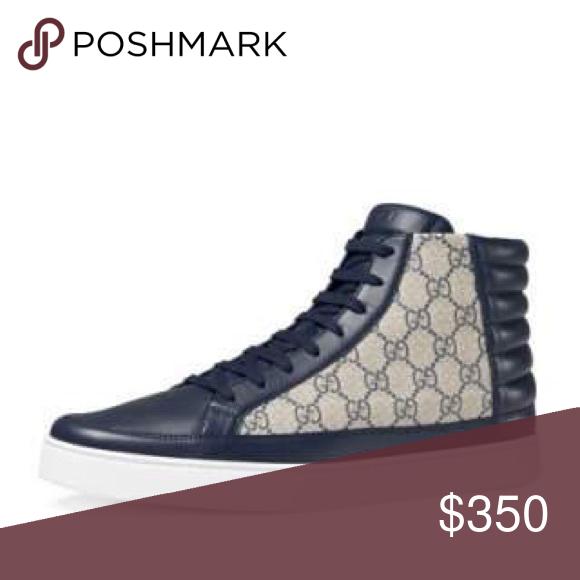 Mens Gucci High Top Sneaker. Never Worn.  350 Mens Gucci High Top Sneaker. cb6275683dc