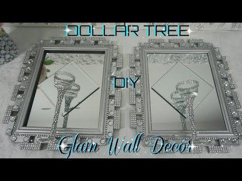 DOLLAR TREE DIY BLING MIRROR WALL SCONCE   DOLLAR STORE ...