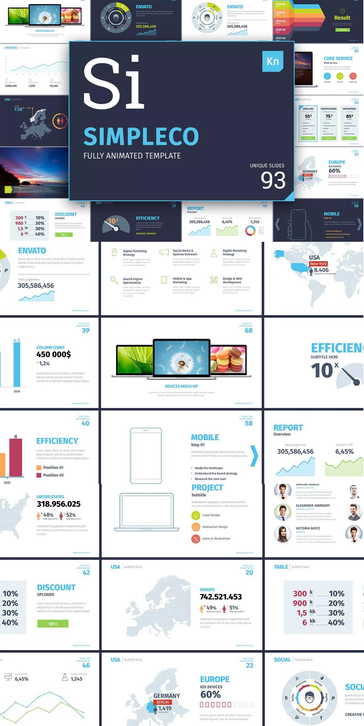 Simpleco Keynote Presentation Template Keynote Presentation