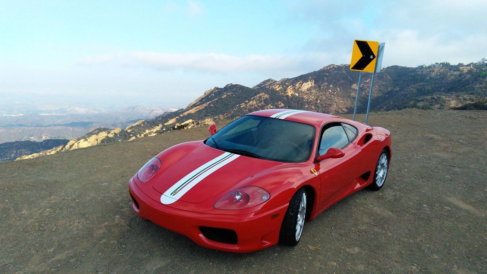 Nice Awesome 2000 Ferrari 360 2000 Ferrari 360 Modena F1