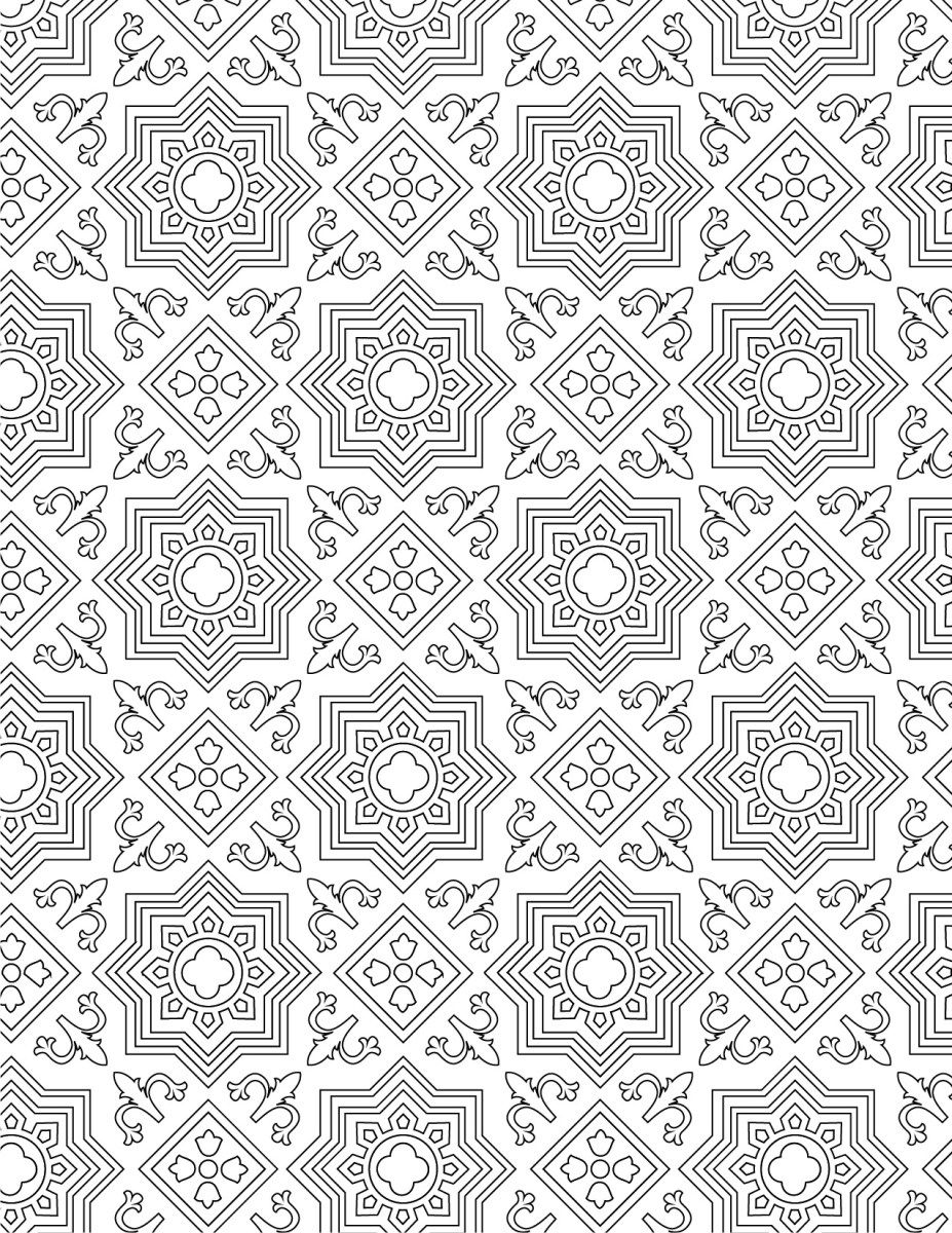 imprimer coloriage gratuit motif mosaique coloriage gratuit mosaique et coloriage. Black Bedroom Furniture Sets. Home Design Ideas