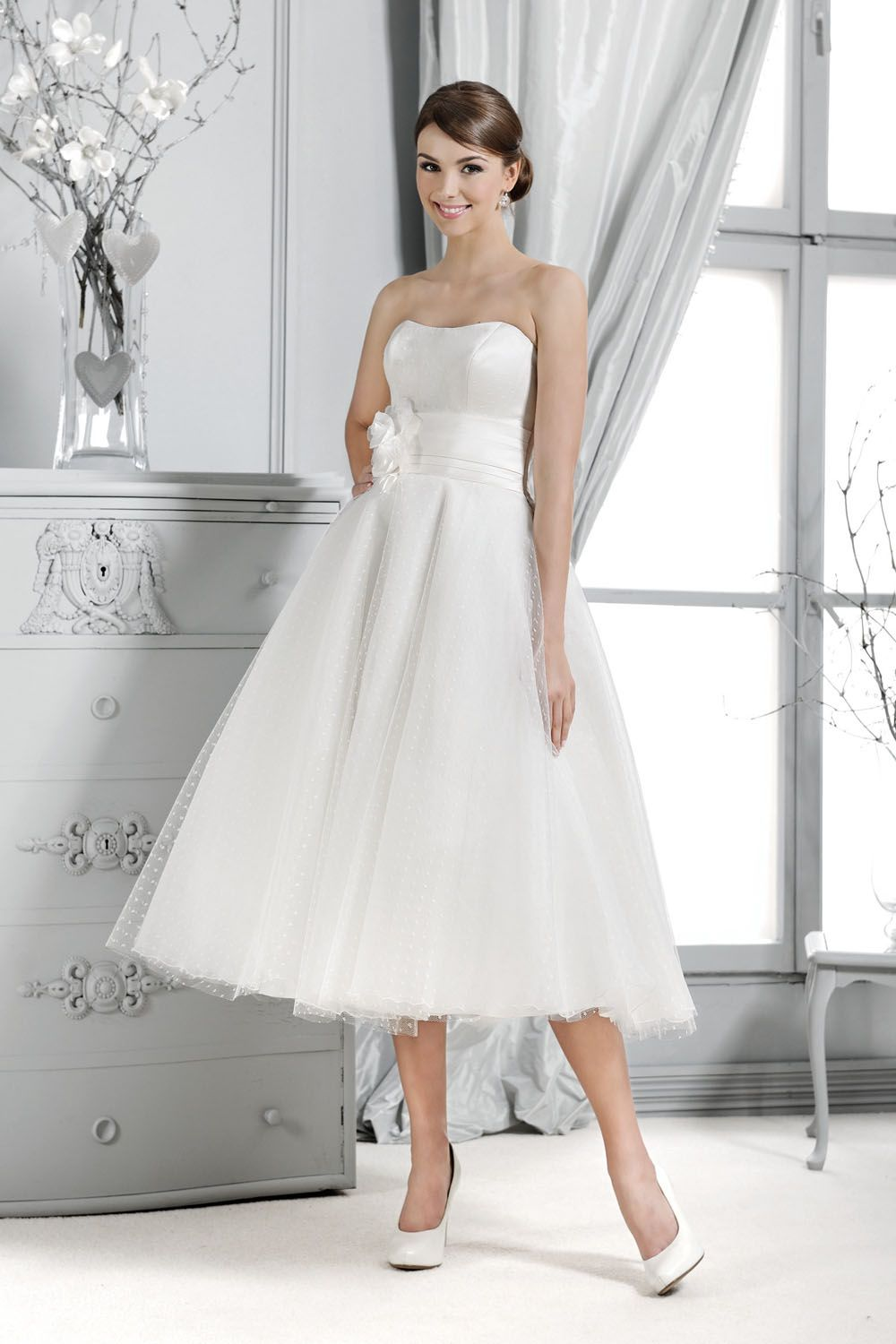 Brautkleid aus der Agnes by Mode de Pol Kollektion 2015 :: bridal ...