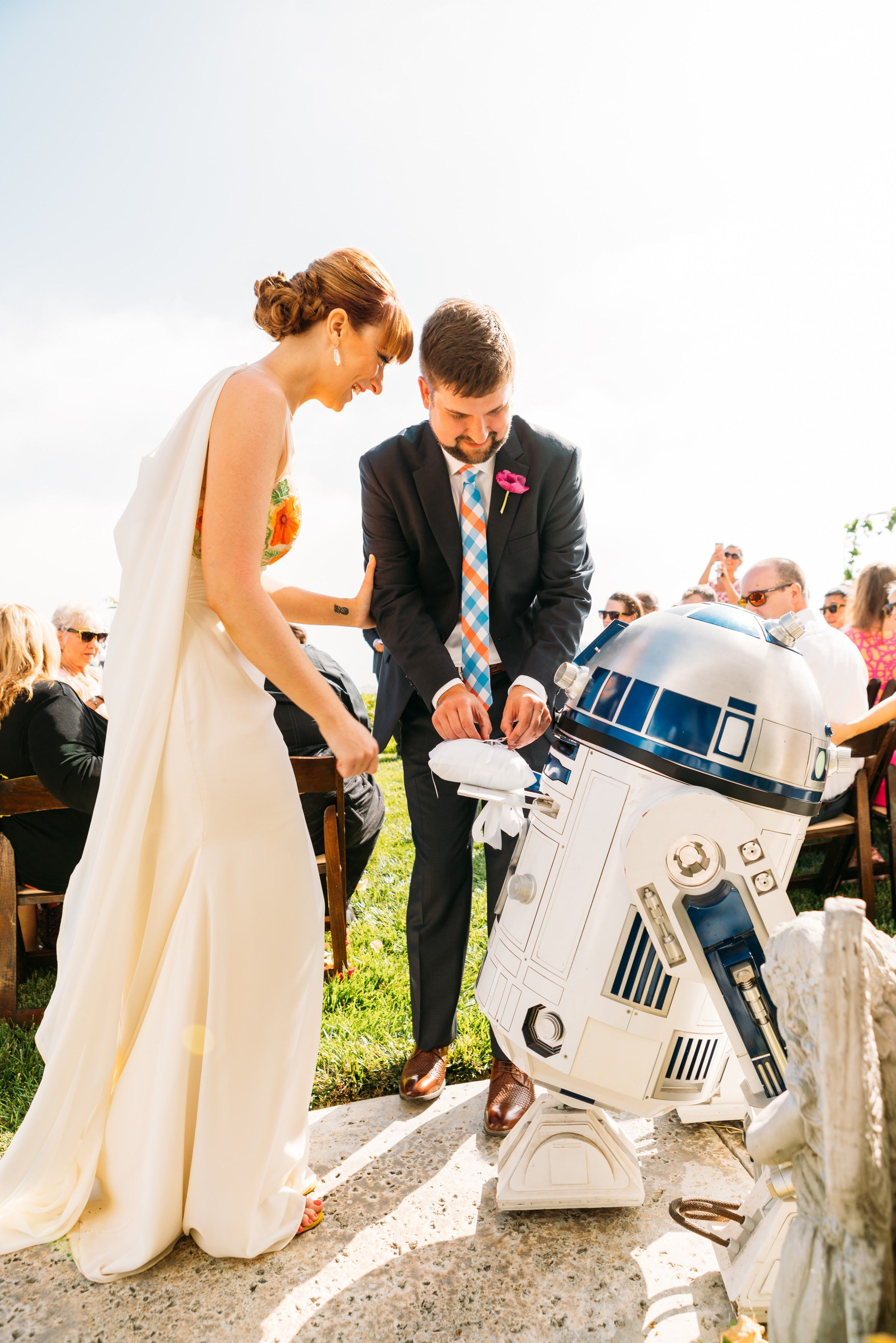 In This Awesome Ca Wedding Krystal Surprised Her Groom With An