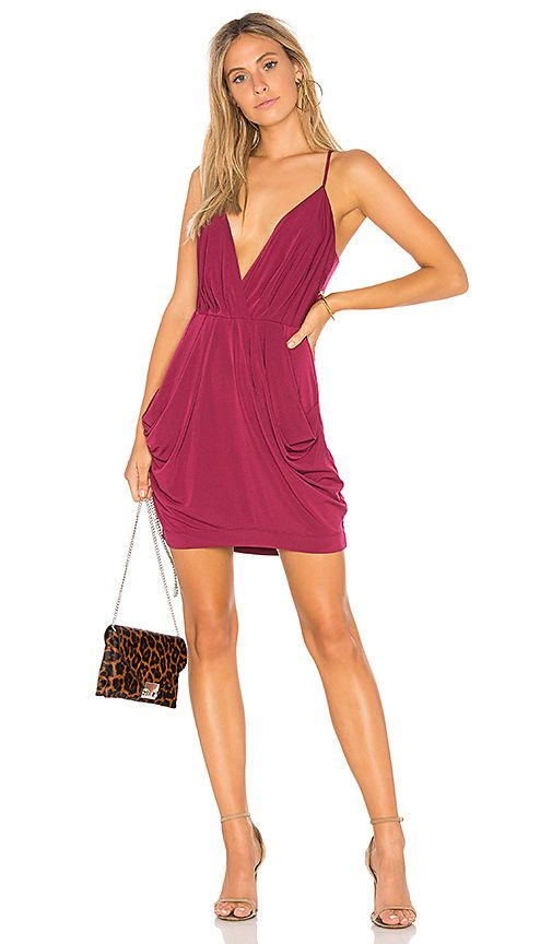 b46774c5073 Shop for BCBGeneration Draped Dress in Purple Berry at REVOLVE. Free 2-3  day shipping and returns