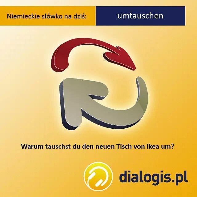 """""""Dlaczego wymieniasz nowy stolik z Ikea?"""" :)  #niemiecki #jezykniemiecki #języki #podróże #niemcy #berlin #frankfurt #monachium #edukacja #germany #german #zagranico #emigracja #polonia #polska #świat #przygoda"""