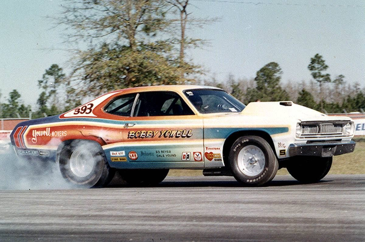 Vintage Drag Racing - Pro Stock - Bobby Yowell | Plymouth duster ...