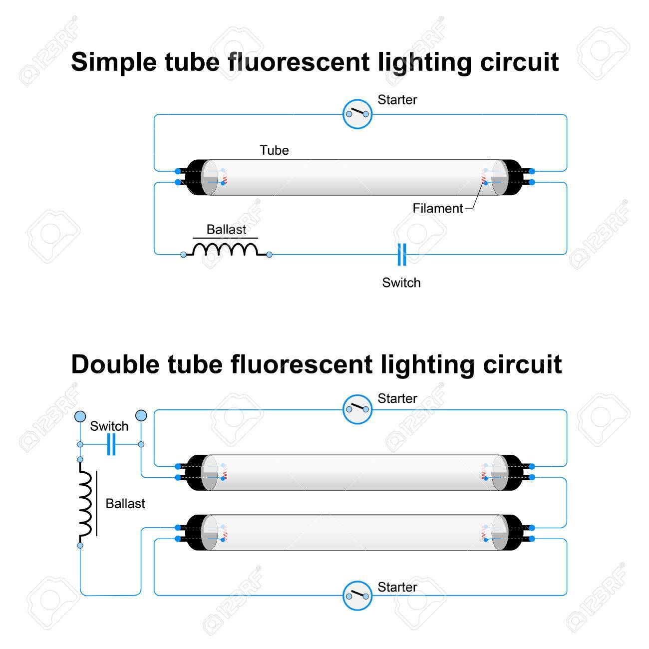 Led Tube Wiring Diagram With Images Led Tubes Fluorescent