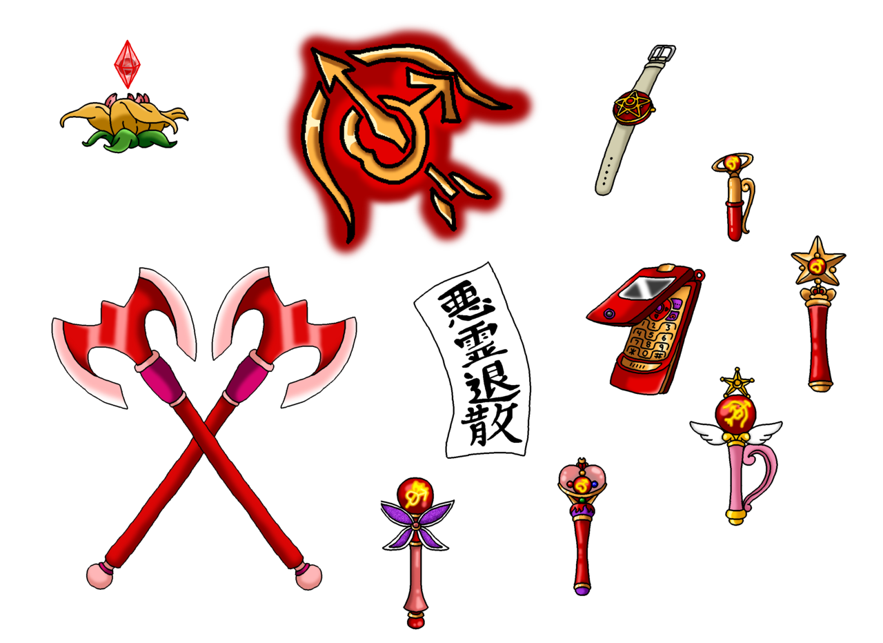 Nads6969: NSG Sailor Mars's Items By Nads6969.deviantart.com On