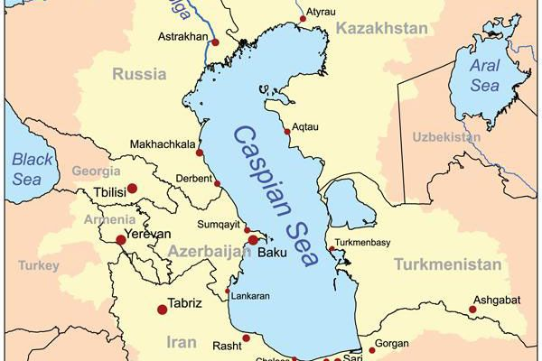 1 The Black Caspian and Aral Seas Kashagan field located in the
