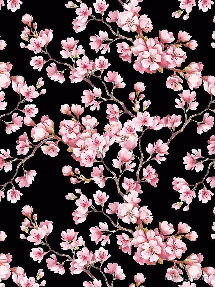 Pin By Christina Pfannerstill On Who In 2020 Cherry Blossom Wallpaper Blue Flower Wallpaper Flower Wallpaper