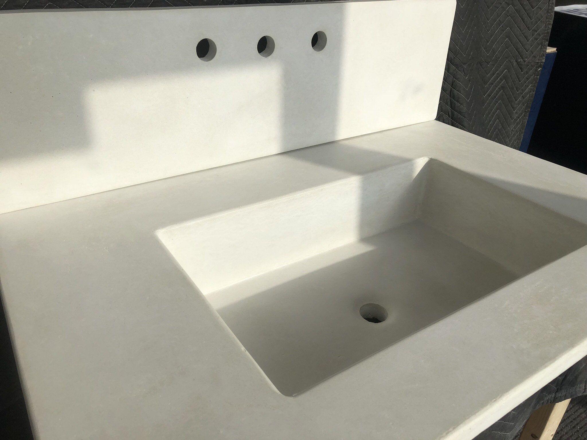 Woodandstonedesigns Vanity Top Sink Funky Bathroom