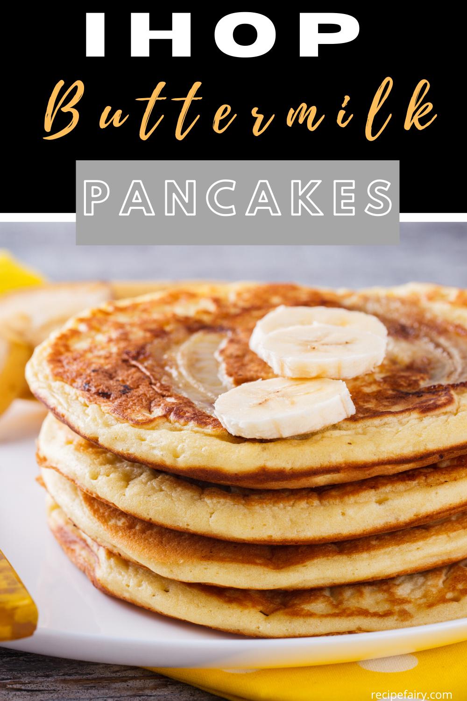 Copycat Ihop Buttermilk Pancakes In 2020 I Hop Pancake Recipe Ihop Buttermilk Pancakes Ihop Pancake Recipe Copycat