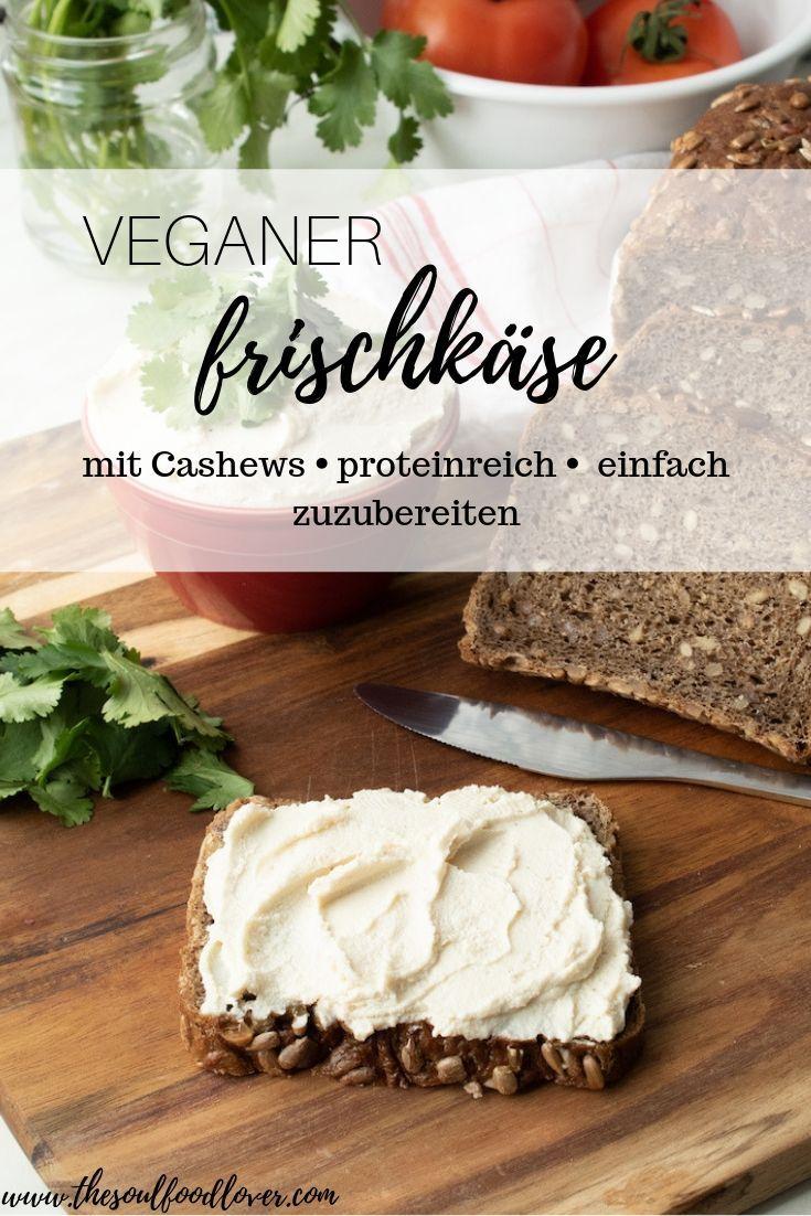 Veganer Frischkäse aus Cashews