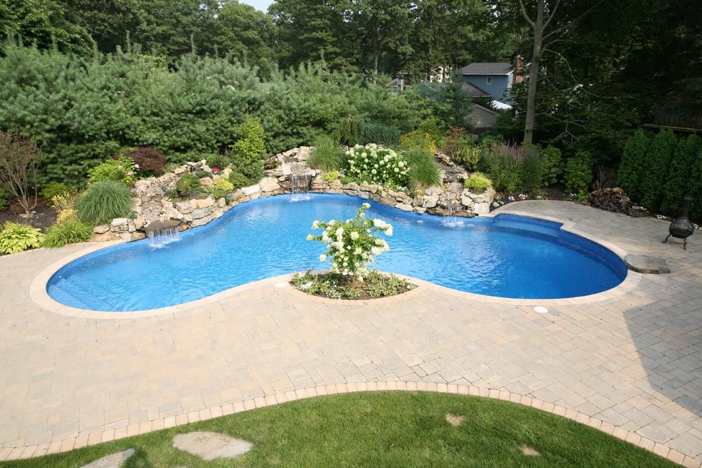 Residential Vinyl Lined Pools Freeform 601 Sq Ft Or More