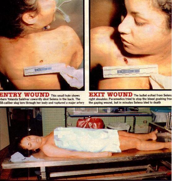 autopsy Selena quintanilla
